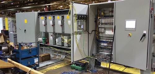 Furnace control panel Install and system integration