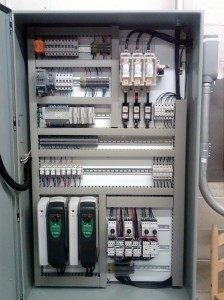 control panel design fabrication and PLC HMI programming