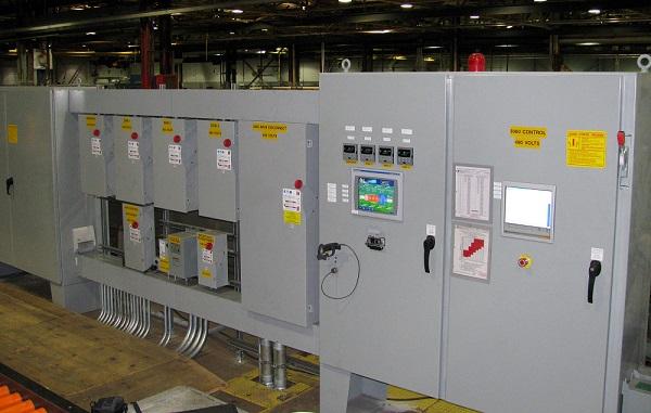 Control panel system integration and plc HMI programming